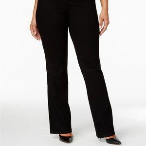 NWT Plus Size Tummy-Control Bootcut Jeans
